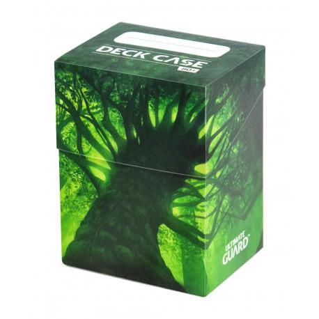 Basic Deck Case 80+ Lands Edition Forêt Ultimate Guard