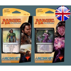 Lot de 2 Planeswalker Decks Amonkhet Gideon & Liliana (EN)