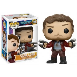 Star-Lord Funko Pop Guardians of the Galaxy Vol. 2 Star-Lord 198