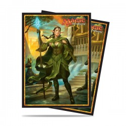 Nissa, Steward of Elements Amonkhet Ultra Pro Sleeves (x80)