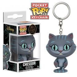 Porte-clés Chessur Alice de l'autre côté du miroir Pocket POP!