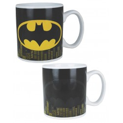 Batman Heat Change Mug Logo (400ml)