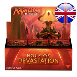 Boîte de Boosters Hour of Devastation (EN)