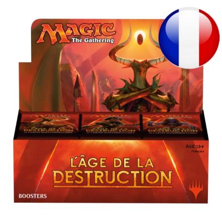 Boîte de Boosters L'âge de la destruction (FR)