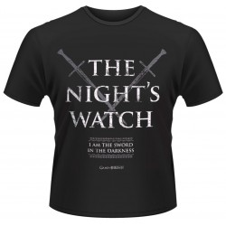The Night Watch Game of Thrones T-Shirt (Noir)