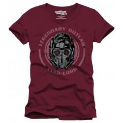 Legendary Outlaw T-Shirt Les gardiens de la Galaxie 2 (Red)