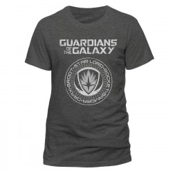 The Guardians of the Galaxy 2 T-Shirt Crest (Grey)