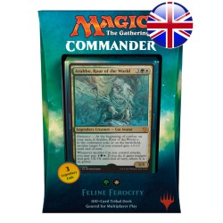 Commander 2017 Cat Tribal Deck - Feline Ferocity (Green/White) (EN)