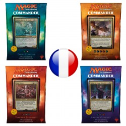 Deck Commander 2017 Lot de 4 Decks Tribaux (FR)