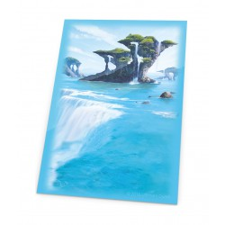 Ultimate Guard Protège-cartes Printed Sleeves Lands Edition Île (x80)