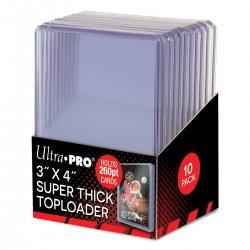 Ultra Pro - 10 Toploaders - Super Thick Toploader 260pt