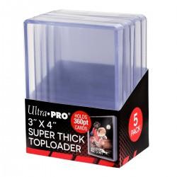 Super Thick 360PT Toploader Ultra Pro (x5)