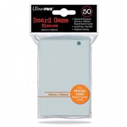 Pochettes pour Cartes de Jeux de Société 65x100mm (7 Wonders) Ultra Pro (x50)