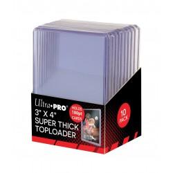 Ultra Pro - 10 Toploaders - Super Thick Toploader 180pt