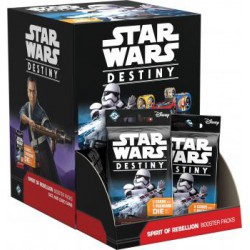 Spirit of Rebellion (L'âme de la rébellion) Boîte de 36 Boosters - Star Wars Destiny (EN/FR)