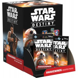 Awakenings (Le Réveil) Boîte de 36 Boosters - Star Wars Destiny (EN/FR)