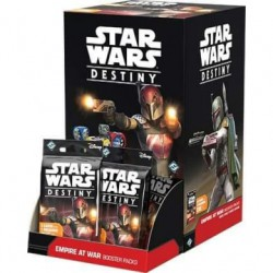 Empire at War (L'empire en guerre) Boîte de 36 Boosters - Star Wars Destiny (EN/FR)