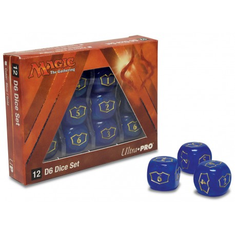 Loyalty Dice Set Planeswalker Dice Plane of Amonkhet (12D6)