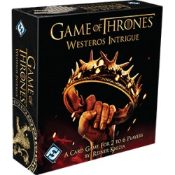 Game of Thrones : Westeros Intrigue - The Card Game in english