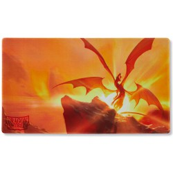 Yellow Elichaphaz Dragon Shield Playmat