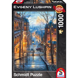 Puzzle Montmartre - A Spring Morning in Montmartre - Evgeny Lushpin - 1000 pcs