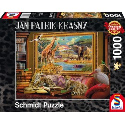 Puzzle La Savanne Revenue à la Vie - Jan Patrik Krasny