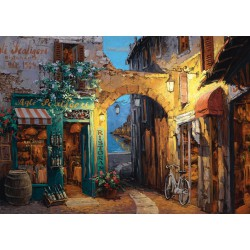 Puzzle Alley Next to Lake Como - Sam Park - 1000 pcs