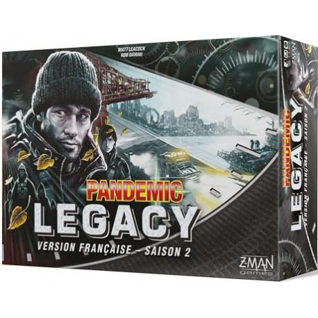 Pandemic Legacy Saison 2 Boîte Noire (FR)