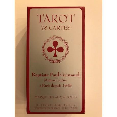 Tarot Grimaud 78 Cartes étui carton