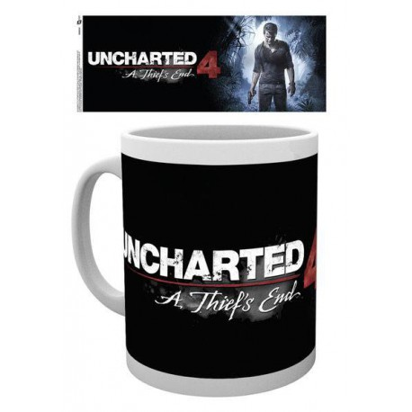 Uncharted 4 mug : Thiefs End