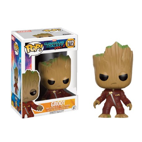Young Groot in Suit (Angry) Funko Pop Guardians of the Galaxy Vol. 2
