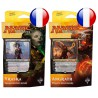 Set of 2 Planeswalker Decks Les Combattants d'Ixalan - Vraska & Angrath (FR)