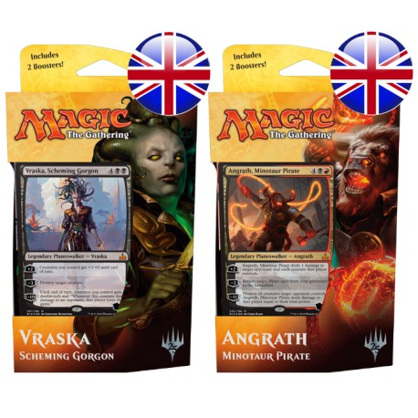 Set of 2 Rivals of Ixalan Planeswalker Decks (EN)