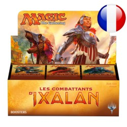 Booster Box Les Combattants d'Ixalan (36 packs) (FR)
