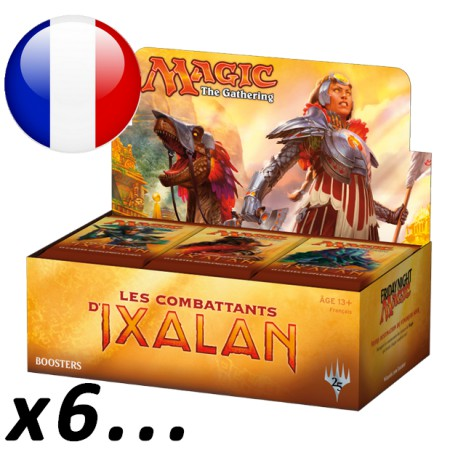 Booster Box Les Combattants d'Ixalan (36 packs) x6... (FR)