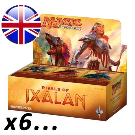 Boîte de 36 Boosters Rivals of Ixalan par 6 ou plus (EN)