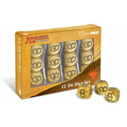 Loyalty Dice Set - Plane of Ixalan - Planeswalker Dice (12D6)
