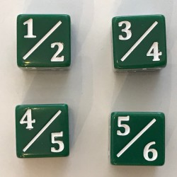Tarmo Dice (set of 4 Dice 6-sided)