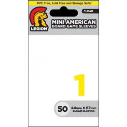 Mini American Size Board Game Sleeves 1 Legion Small Sleeves (x50)