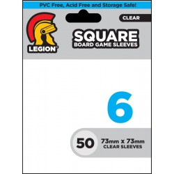 Legion - 50 Board Games Sleeves - 73x73mm - Square Size 6