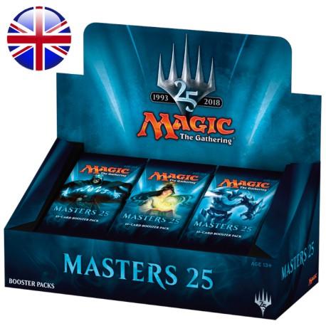 Boîte de 24 Boosters Masters 25 (EN)
