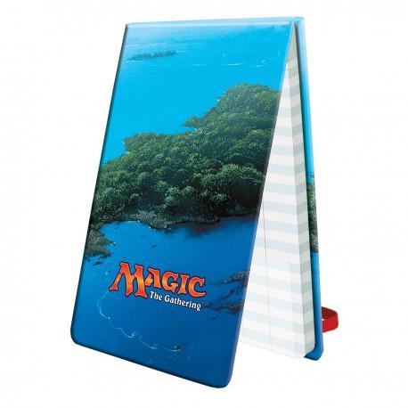 Bloc Points de Vie Île - Ultra Pro Life Pad Mana 5 Island for Magic