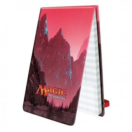 Bloc Points de Vie Montagne - Ultra Pro Life Pad Mana 5 Mountain for Magic