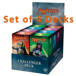 Challenger Decks - set of 4 Challenger Decks (EN)