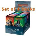 Challenger Decks - Lot de 4 Challenger Decks (EN)
