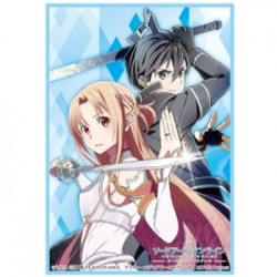 Sword Art Online: Ordinal Scale - Kirito & Asuna Bushiroad Standard Sleeves Collection HG Vol.1378 (x60)