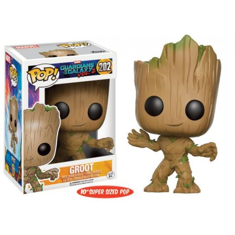 Young Groot (Super Sized) Funko Pop Guardians of the Galaxy Vol. 2 - 202