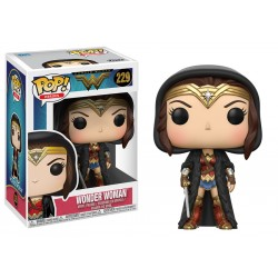 Wonder Woman Diana in Cloak Funko Pop Wonder Woman Movie 229