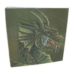 Dragon Shield 3 Ring Binder Brown Dragon