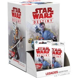 Legacies (Héritages) Boîte de 36 Boosters - Star Wars Destiny (EN/FR)